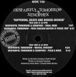 Cover: Despairful Tomorrow & Xenophex - Mental Erosion