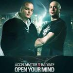 Cover: Accelarator - Open Your Mind