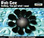 Cover: Rob Gee - Ecstasy, You Got What I Need