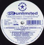 Cover: 2 Unlimited - Maximum Overdrive (Radio Edit)