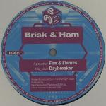 Cover: Brisk & Ham - Fire & Flames
