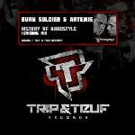 Cover: Burn Soldier & Artemis - History Of Hardstyle