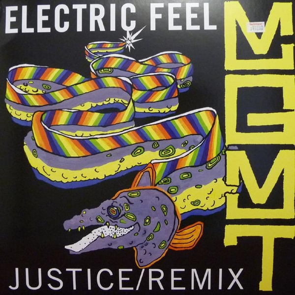 Cover art for the MGMT - Electric Feel (Justice Remix ...