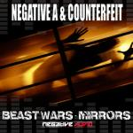 Cover: Negative A & Counterfeit - Mirrors