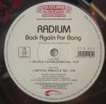 Cover: Radium - Back Again For Bang (Trance Generators Mix)