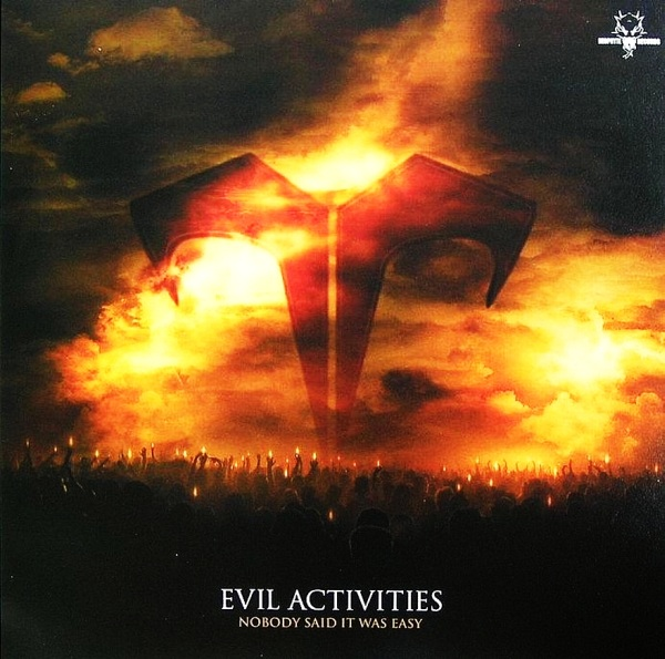 Cover Art For The Evil Activities Nobody Said It Was Easy