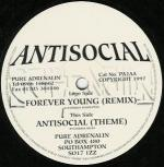 Cover: Antisocial - Forever Young