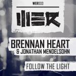 Cover: Brennan Heart & Jonathan Mendelsohn - Follow The Light
