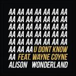 Cover: Alison Wonderland ft. Wayne Coyne - U Don't Know