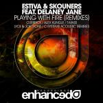 Cover: Estiva & Skouners feat. Delaney Jane - Playing With Fire (C-Systems Acoustic Rework)