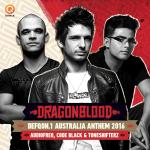 Cover: Code Black - Dragonblood (Defqon.1 Australia Anthem 2016)