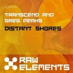 Cover: Transcend & Greg Peaks - Distant Shores