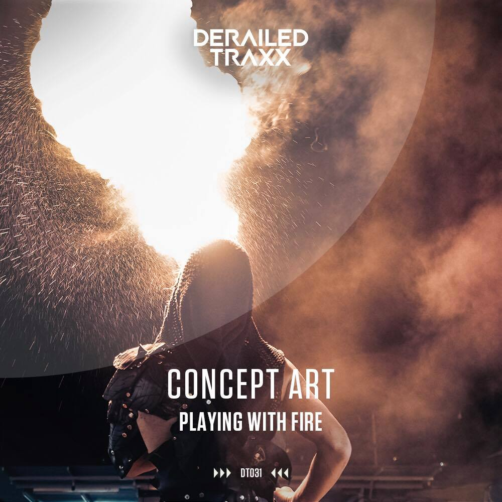 Cover Art For The Concept Art Playing With Fire Hardstyle