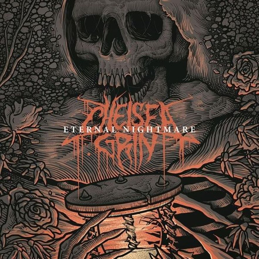 cover art for the chelsea grin the wolf metal lyric