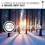 Cover: 4 Strings & Susanne Teutenberg - A Brand New Day
