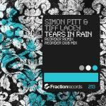 Cover: Simon Pitt & Tiff Lacey ‎ - Tears In Rain (ReOrder Remix)