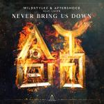 Cover: Aftershock - Never Bring Us Down