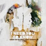 Cover: Armin Van Buuren - I Need You To Know