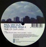 Cover: Paul Van Dyk - Time Of Our Lives