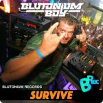 Cover: Blutonium Boy - Survive