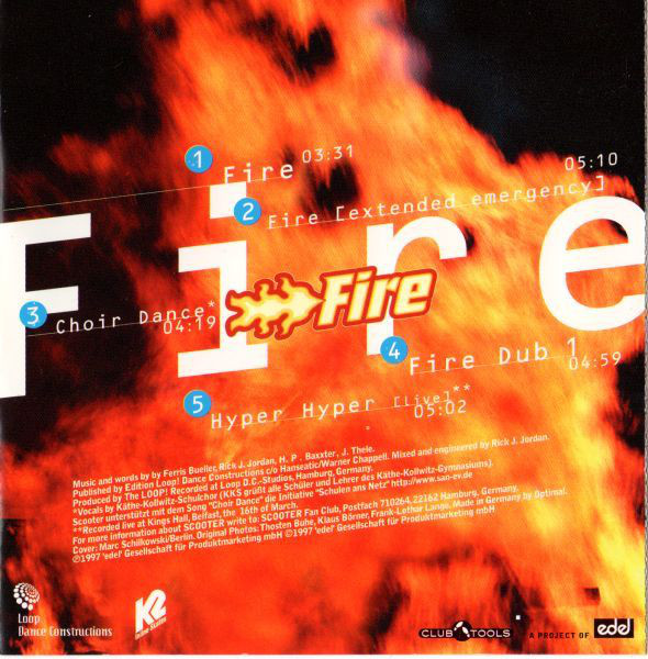 scooter album fire all tracks