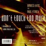 Cover: Benassi Bros. & Paul French - Don't Touch Too Much