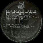 Cover: Mad Dog - Disorder