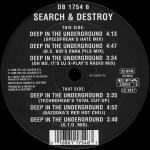 Cover: Search & Destroy - Deep In The Underground