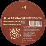 Cover: Zatox & Activator - Don't Let It Go